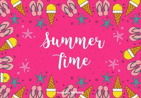 Summer-time-vector-background