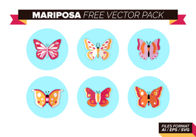 Mariposa Free Vector Pack