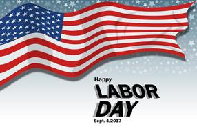 Labor Day Poster Design