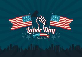 Fundo do vetor do Dia do Trabalho