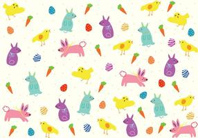 Easter Pattern Background