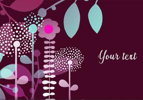 Vector-decorative-floral-background