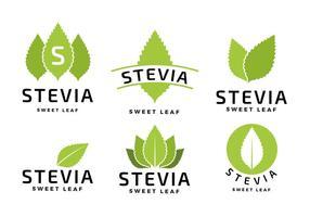 Stevia Logo Gratis Vector