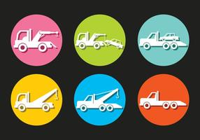 Towing Vector Icons