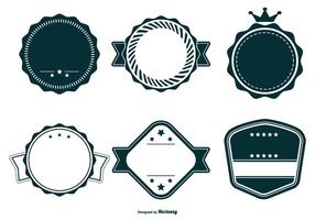 Retro Vector Badge Collection