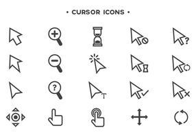 Freie Cursor-Vektoren