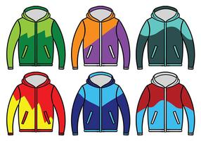 Windbreaker Jacket Vector