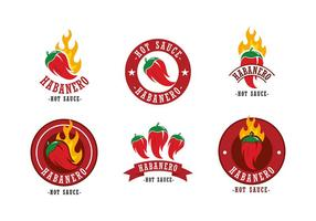 Logotipo de habanero vetor grátis