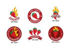 Habanero Logo vettoriali gratis