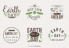 Earth-day-typographic-vector-designs