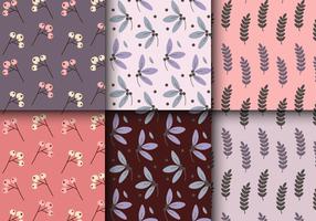Patrón floral de la vendimia libre