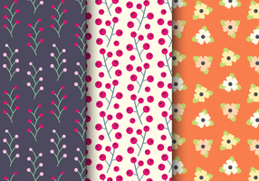 Free Spring Floral Pattern vector