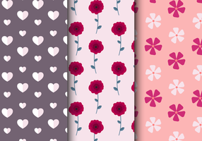 Freies Valentinstag Muster