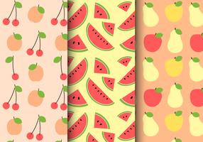 Free Summer Fruit Pattern vector