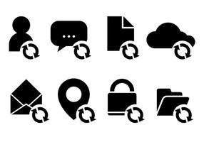 Update Icon Vector Pictogrammen