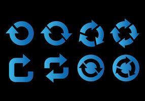 Uppdatera ikonvektorikoner
