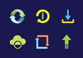 Icono de actualización Pack de vectores