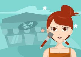 Beauty Clinic Background vector