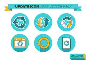 Update Icon Gratis Vector Pack
