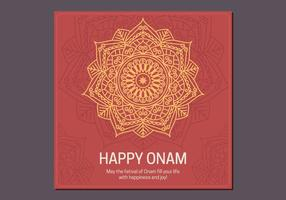 Onam Poster Template