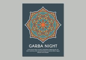 Molde do cartaz de Garba
