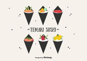 Temaki Vector  Set