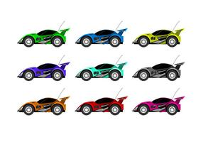 Remote Control Car Free Vector