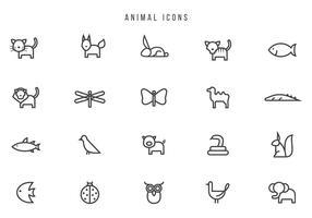 Vecteurs animaux libres vecteur