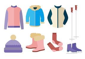 Gratis Höst Vinter Ytterkläder Vector