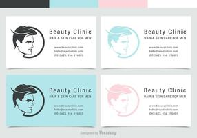 Man-face-silhouette-business-card-with-logo-vector-set