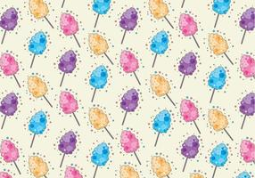 Candy Floss Pattern Vector