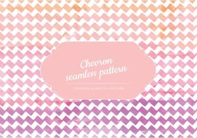 Vector Watercolor Chevron Pattern