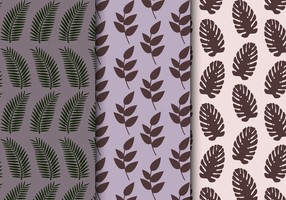 Tropical Exotic Pattern vector