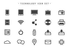 Tecnología libre Vectores