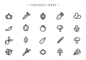 Vecteurs de légumes libres vecteur