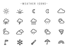 Weather Vectors