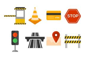 Free Toll Vector Icons