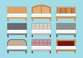 Headboard Vectors Set