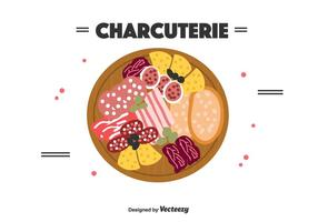 Charcuterie Vector