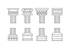 Romeinse kolomvectoren