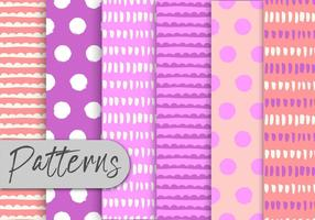 Pink Abstract Pattern Set
