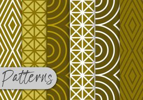 Olive Line Pattern Set