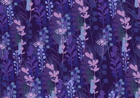 Seamless Pattern Of Bluebonnet