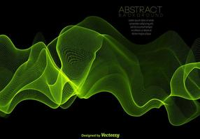Abstract Green Spectrum Background - Vector