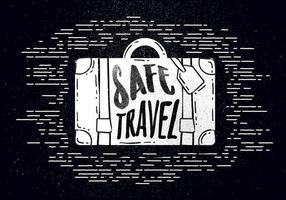 Free Hand Drawn Travel Background vector