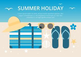 Free Summer Holiday Background