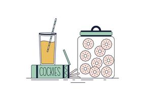 Vecteur de cookies gratuit