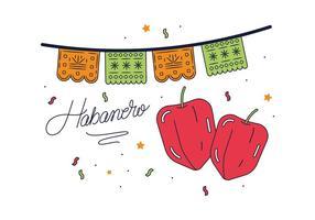 Vecteur Habanero gratuit