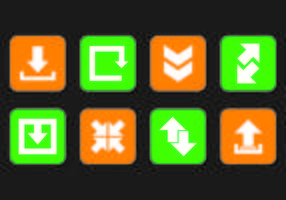 Set von Update-Icons