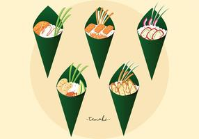 Temaki vector pack